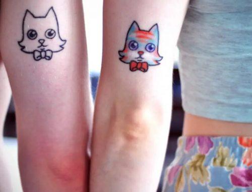 The Best Stunning Cartoon Cat Tattoos of 2021